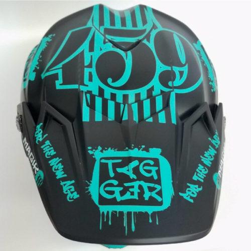 Tagger Crew Helmet wrap top